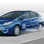 トヨタ自動車がEV向け非接触充電システムの実証実験を開始 - wvc1402_01