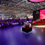 日産スカイラインGT-R復活? 568馬力のV6ツインターボ・4WD【動画】 - 2014_GMS_Q50_Eau_rouge_engine_reveal_2