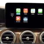 AppleとGoogleが車載インフォテインメントで競合へ! - Benz_CarPlay