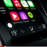 AppleとGoogleが車載インフォテインメントで競合へ! - Volvo_CarPlay