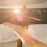 リヤウインドウのカメラが後方画像を映し出す「スマート・ルームミラー」 - NISSAN_SMART_ROOMMIRROR_0107