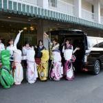 女子会ゴルフに新型エルグランドで6人乗って行ってみた - s07