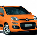 鮮やかなオレンジのフィアット・パンダ限定車が登場 - FIAT_PANDA-618x448