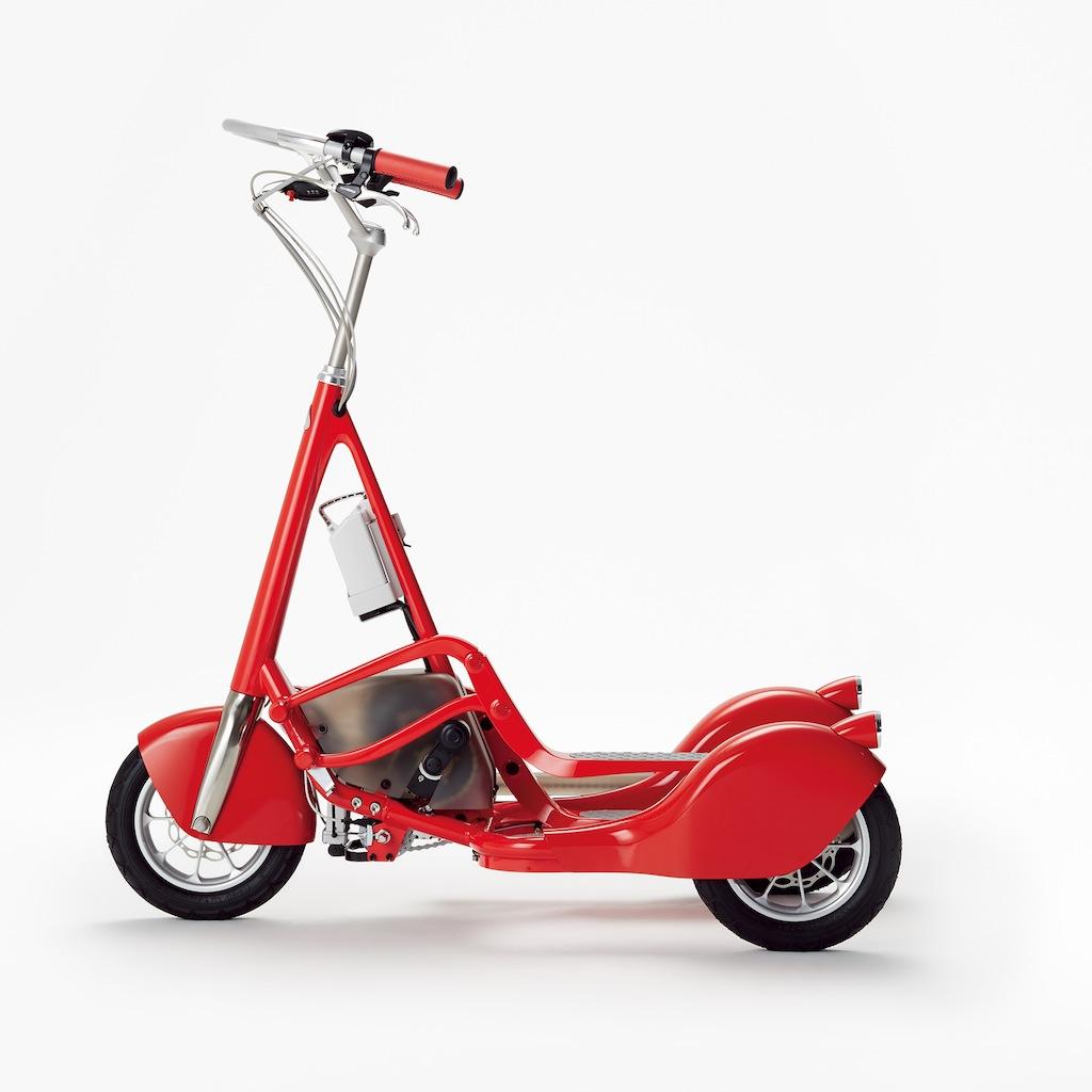 ... と走る電動アシスト三輪自転車