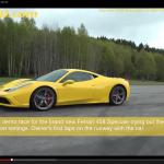 フェラーリとVWゴルフ、どっちが速い?【動画】 - 458_vs_R32_01
