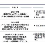 政府目標「2025年までに燃料電池車を200万円台に」 - 03