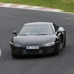 ウラカンと共通!? アウディ新型R8最新ショットをスクープ! - Audi R8 1