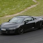 ウラカンと共通!? アウディ新型R8最新ショットをスクープ! - Audi R8 2