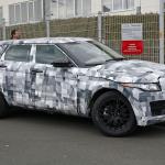 ジャガー初のSUV市販モデル! - Spy-Shots of Cars