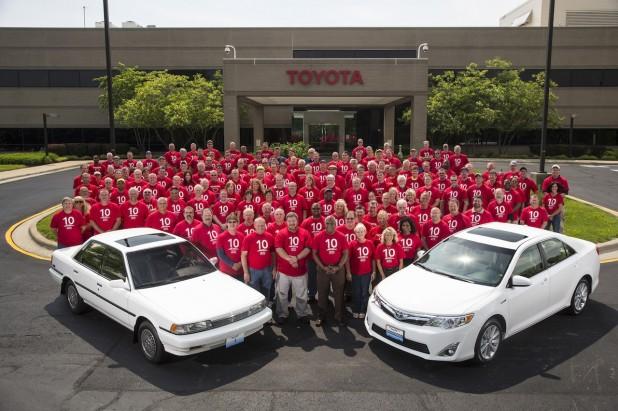 10 Millionth Toyota Camry