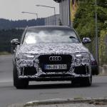 アウディRS Q3のフェイスリフトモデルをスクープ! - Audi RS Q3 1