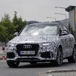 アウディRS Q3のフェイスリフトモデルをスクープ! - Audi RS Q3 2
