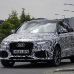 アウディRS Q3のフェイスリフトモデルをスクープ! - Audi RS Q3 3