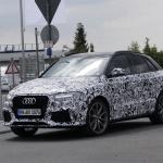 アウディRS Q3のフェイスリフトモデルをスクープ! - Audi RS Q3 4