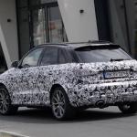 アウディRS Q3のフェイスリフトモデルをスクープ! - Audi RS Q3 7