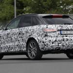 アウディRS Q3のフェイスリフトモデルをスクープ! - Audi RS Q3 8