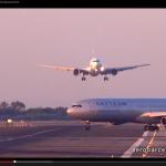 あわや大惨事! 飛行機のニアミス映像をアップしたのはナント!?【動画】 - Nea_Miss_BCN_02