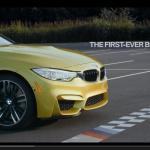 BMW M4がドリフトで描いたものは?【動画】 - M4_Initiation_02