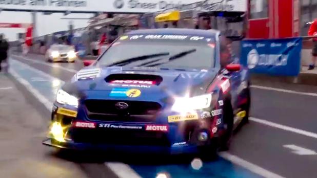 新型WRX STIのレース仕様車は驚きの速さ!