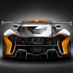 McLaren「P1 GTRデザイン・コンセプト」サーキット専用モデルを披露 - mclarenp1gtrrear