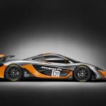 McLaren「P1 GTRデザイン・コンセプト」サーキット専用モデルを披露 - mclarenp1gtrside