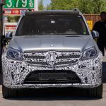 ベンツGLクラス2016年モデルをスクープ! - Mercedes GL Facelift 01