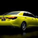 トヨタ「マークX」を一部改良、イエローが鮮やかな特別仕様車を設定 - marx1409_04