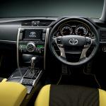 トヨタ「マークX」を一部改良、イエローが鮮やかな特別仕様車を設定 - marx1409_05