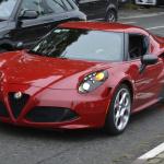 アルファロメオ「4C」のホットモデル「4Cクアドリフォリオ ヴェルデ」投入へ! - Spy-Shots of Cars