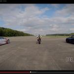 ドゥカティ1199とマクラーレンP1、ポルシェ918、速いのは?【動画】 - Supercar_vs_Superbike03