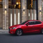 デミオのセダン版もかなりスポーティ!「Mazda2」セダンが世界デビュー - Mazda2_01