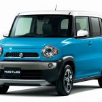 2014年10月のハイブリッドVS.軽自動車の販売合戦を制したのはアクア - suzuki_hustler201411