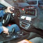 2015年秋デビューBMW新型7シリーズインパネ完全公開! - BMW 7 series 1