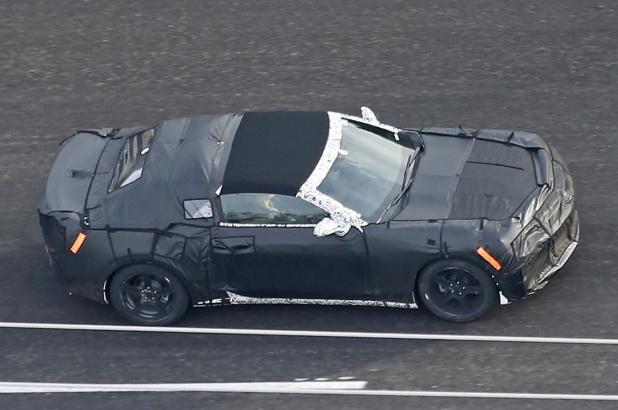 Chevy Camaro Convertible 1