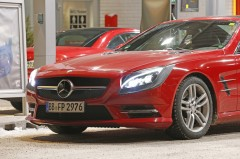 Mercedes SL facelift 2