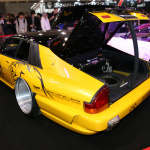インポートカー部門は極太なオバフェンがポイント【東京オートサロン2015】 - c07