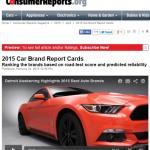 米国消費者情報誌でMAZDAの評価がジャンプアップ! - ConsumerReports