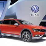 専用設計装備を満載した新型「パサート オールトラック」をジュネーブモーターショーで披露 - Volkswagen Pressekonferenz am 03032015 Automobilsalon Genf