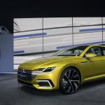 VW「スポーツクーペ コンセプトGTE」がジュネーブモーターショーで世界初披露 - Volkswagen Konzernabend am 02032015 Automobilsalon Genf