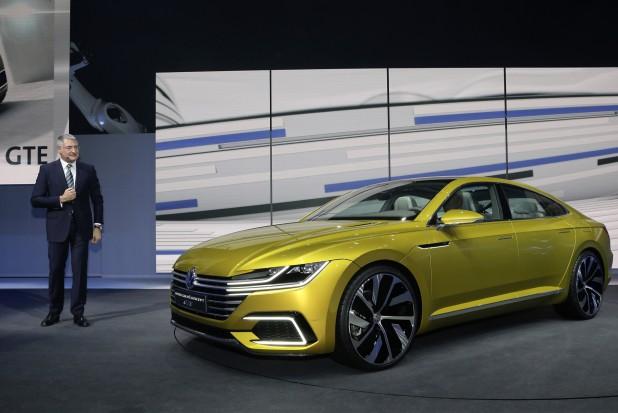 Volkswagen Konzernabend am 02032015 Automobilsalon Genf