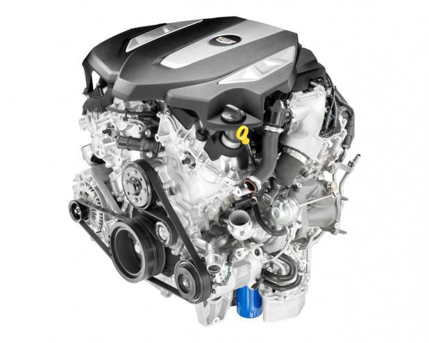 キャデラックの新世代v6エンジンは3 0リッターで400馬力の世界最高レベル