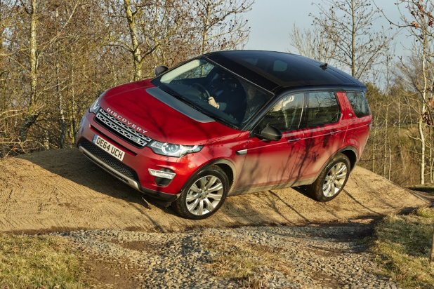Discovery Sport Off Road Experience in Tokyo_2