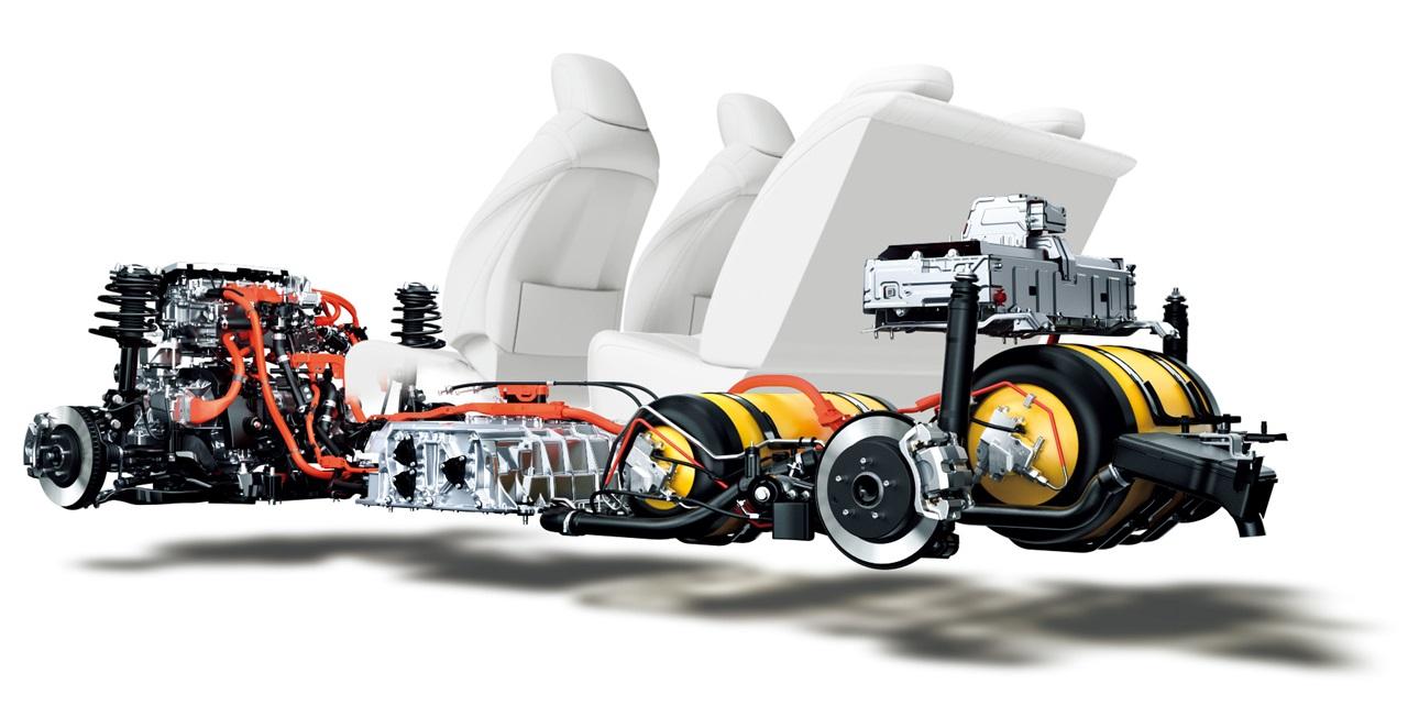 TOYOTA_MIRAI ガス事業大手の岩谷産業が得意とする「液化水素」をFCV側で使用可能にな