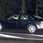 暗闇に現れたアウディA4次世代モデル、インパネも捕らえた! - Spy-Shots of Cars