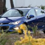 シボレー・クルーズ次世代モデル、フルヌードショットをキャッチ! - Spy-Shots of Cars