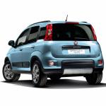 フィアット・パンダの4WD&6MTに120台限定車が登場! - 375_news_Panda4X4_Blue_Rear