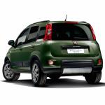 フィアット・パンダの4WD&6MTに120台限定車が登場! - 375_news_Panda4X4_Green_Rear