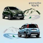 フィアット・パンダの4WD&6MTに120台限定車が登場! - 375_news_image_Panda4x4_Comfort