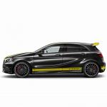 36台限定で価格799万円、特別なAMG A45が登場 - A45_4MATIC_YellowColorLine002