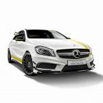36台限定で価格799万円、特別なAMG A45が登場 - A45_4MATIC_YellowColorLine004